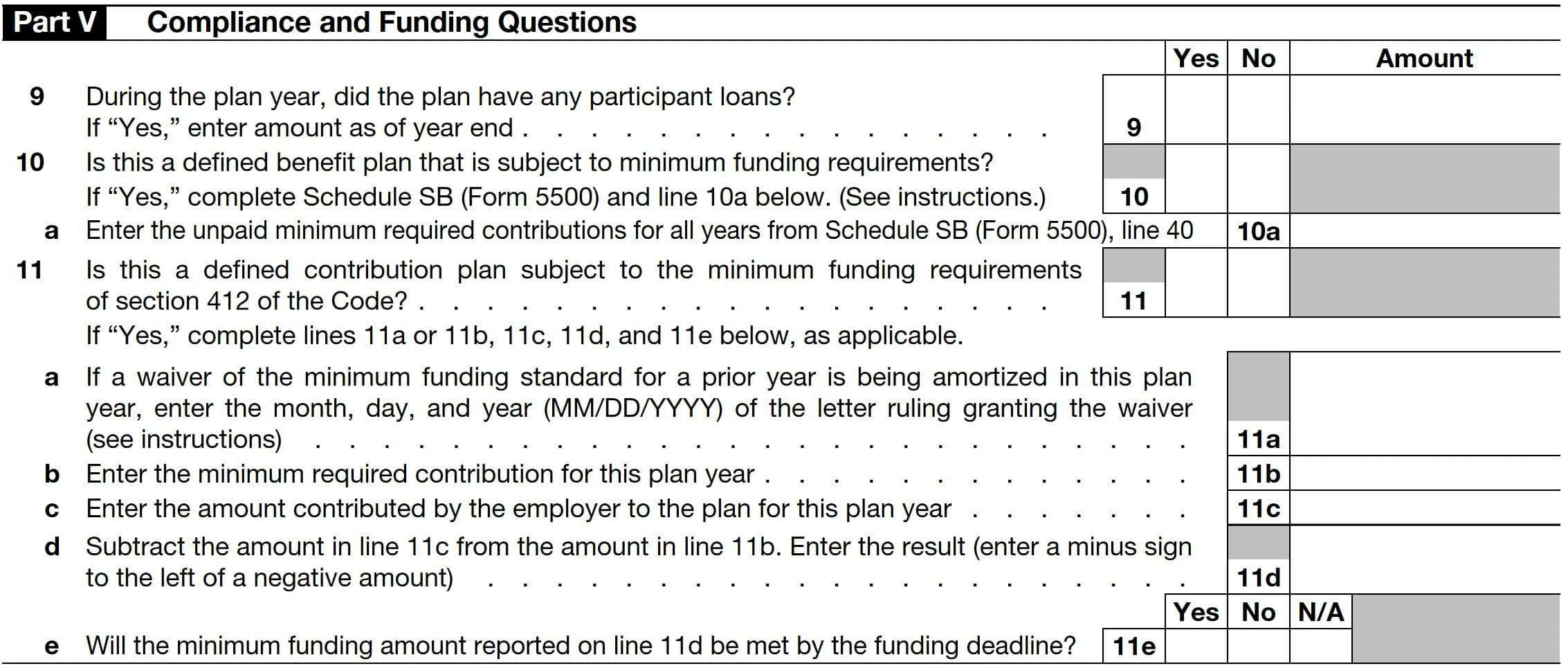Form 5500 Ez Example Complete In A Few Easy Steps